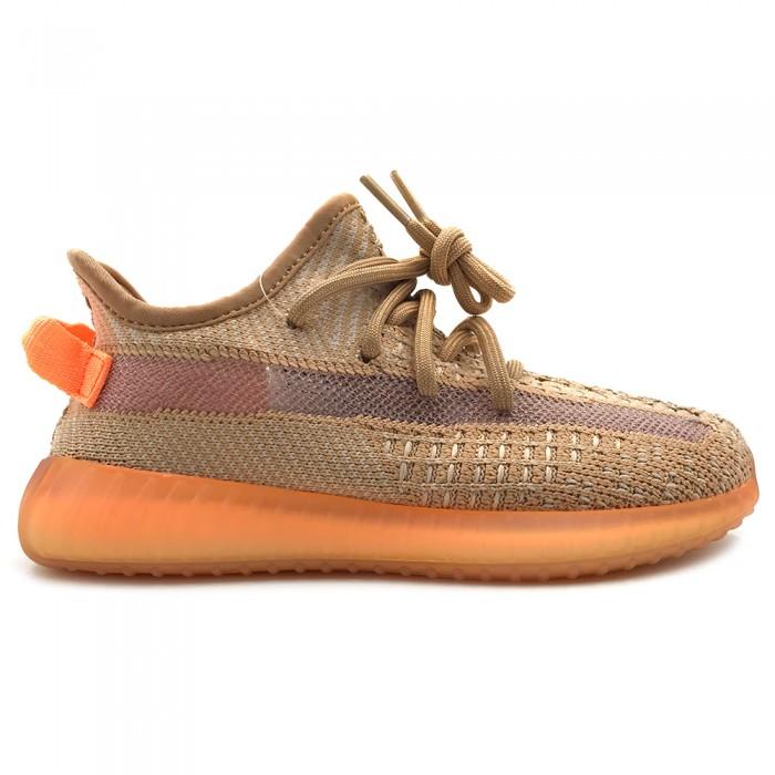 Кроссовки Adidas Yeezy 350 V2 Clay Kids